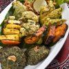 Vegetarian Platter Selection